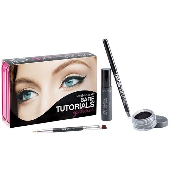 Bareminerals Makeup Bare Minerals Black Eyeliner Set Kit Mascara