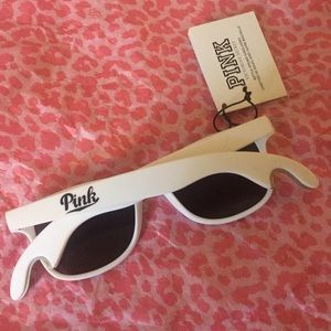 PINK Victoria's Secret Accessories - 😎 victoria's Secret pink white sunglasses