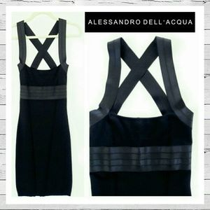 Alessandro Dell'Acqua Dresses & Skirts - Alessandro Dell'Acqua Bandage Dress Italy 40 2/4