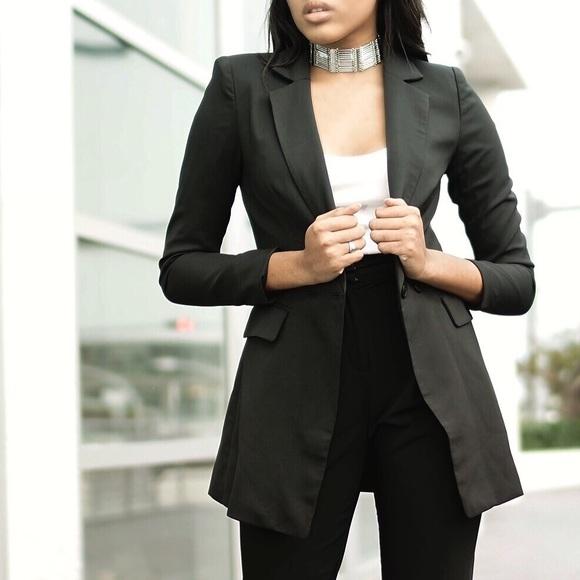 e25841558937 Style Link Miami Jackets & Coats | Black Boyfriend Blazer | Poshmark