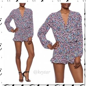 Eight Sixty Pants - NWOT Zoe Floral Long Sleeve Romper