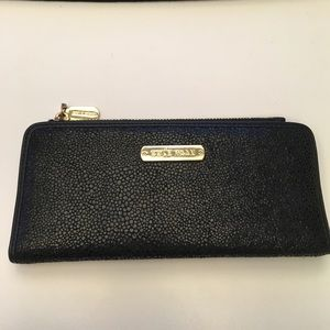 Slim Cole Haan wallet in black