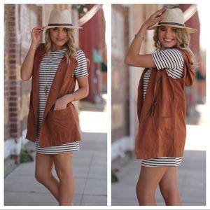 Infinity Raine Jackets & Blazers - Copper Spring Vest