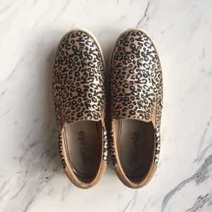 Gola Shoes - Gola cheetah print slip ons