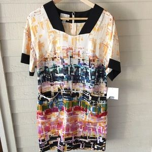 Donna Morgan Dresses & Skirts - Donna Morgan Multicolor Silk Dress