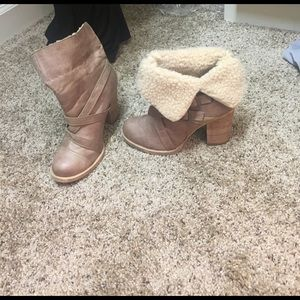 Chinese Laundry Shoes - Chinese laundry fur boots! Never worn!