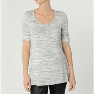 A Pea in the Pod scoop neck a line maternity shirt