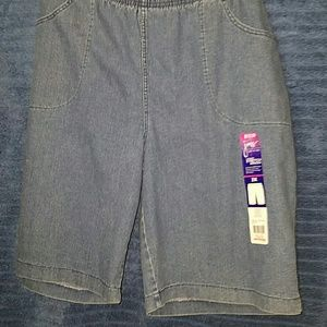 Just My Size Pants - 🌞NWT LADIES DENIM SHORTS