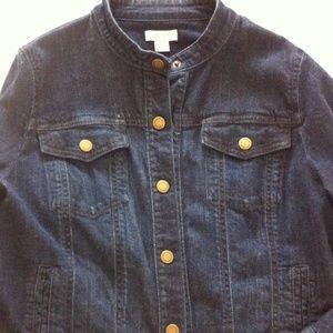 Coldwater Creek Jackets & Blazers - Chic Jean Jacket