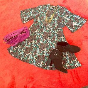 Zara Dresses & Skirts - Zara Floral Mini Dress -sz L