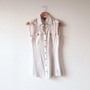 BCX Tops - BCX short sleeve long blouse