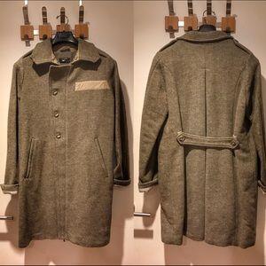Diesel Black Gold Jackets & Blazers - Diesel Black Gold coat, grey/green color, size M