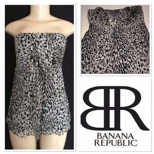 Banana Republic Tops - Banana Republic animal print top