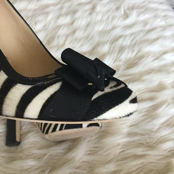 kate spade Shoes - Kate spade zebra pumps size 8