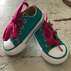 Converse Other - Toddler Converse multi-color shoes.
