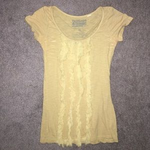 Threads 4 Thought Tops - Ruffle design blouse  ALL OFFERS CONSIDERED