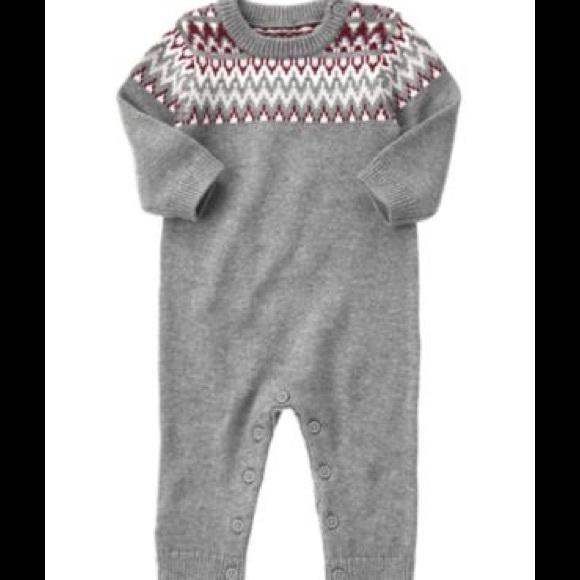 68% off Gymboree Other - Gymboree EEUC Baby Boy Fair Isle sweater ...