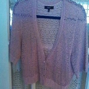 Express Sweaters - Express cropped cardigan