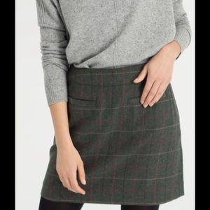 Joules Dresses & Skirts - Joules Fearne Tweed Mini Skirt- Heather
