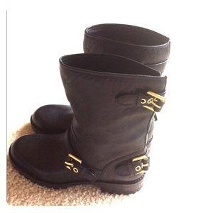 Balmain Shoes - NWT Balmain black leather moto boots, size 36.5