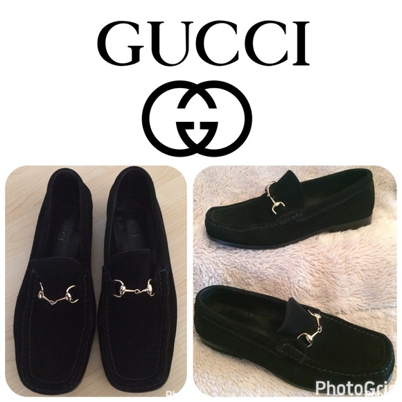 5d497887b Gucci Shoes   Authentic Black Suede Loafer Size 37cus 7   Poshmark