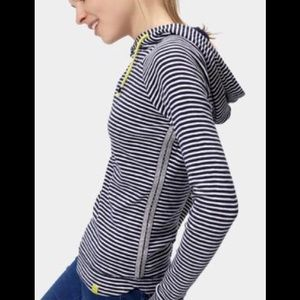 Joules Tops - Joules Marlston French Navy Stripe Hoodie