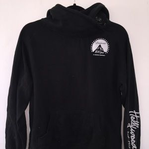 Paramount Studios Hoodie with Button detail