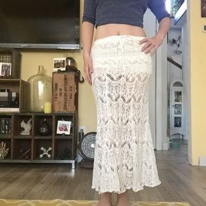Lace Skirt with Shorts Inside