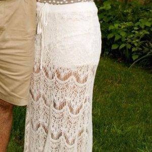  Lace Skirt with Shorts Inside 