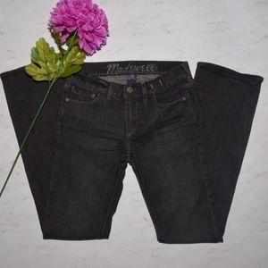 "Madewell Denim - Madewell Boot Cut 25 Black 31"" Boot Legger Jeans"