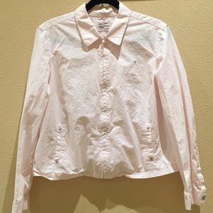 Calvin Klein Jackets & Blazers - Light Pink Calvin Klein Zip Up Lightweight Jacket