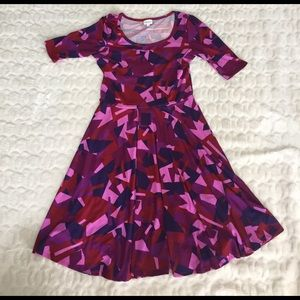 LuLaRoe Geometric Nicole Dress