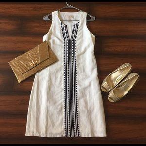 Julie Brown Dresses & Skirts - White cotton shift dress