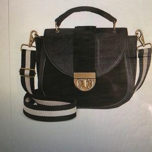 Emma Fox Handbags - Emma Fox Dales Top Handle Flap Saddle Bag