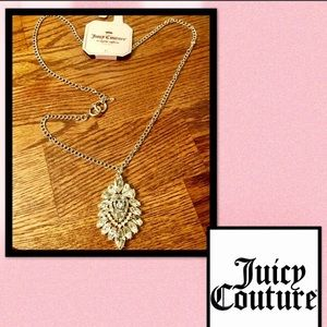 JUICY COUTURE Crystal High Drama Necklace