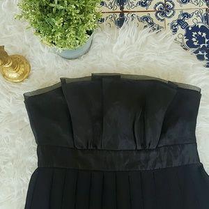 White House Black Market Dresses & Skirts - WHITE HOUSE BLACK MARKET strapless black dress