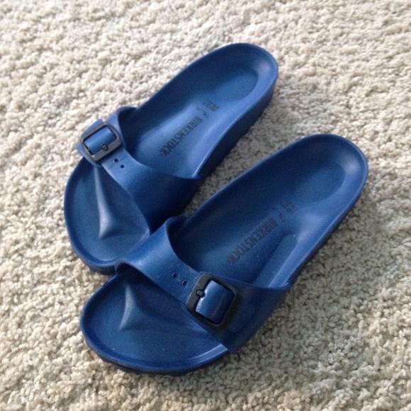 8725e8672cf Birkenstock Shoes - Blue Madrid Eva Waterproof Foam Birkenstocks