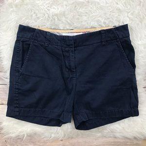 J. Crew Navy Chino Shorts