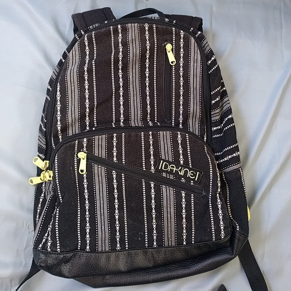 82% off Dakine Handbags - Dakine black and white pattern striped ...