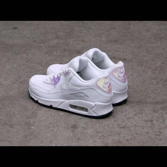 outlet store cc6aa c2022 DS RARE Nike Air Max 90 Premium White Halographic
