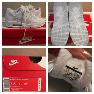 DS RARE Nike Air Max 90 Premium White Halographic NWT