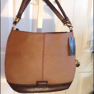 Tignanello Handbags - Tignanello Braided Beauty Hobo, NWT