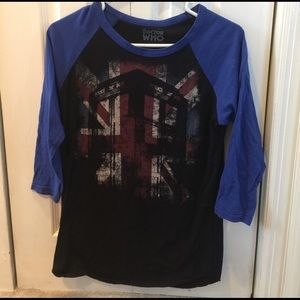 Hot Topic Tops - Doctor who top