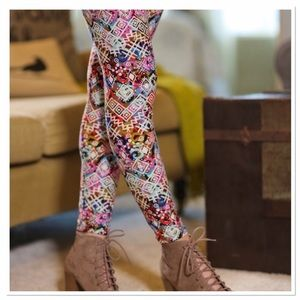 Infinity Raine Pants - ✨2 for 35✨Spring multi print  print leggings OS