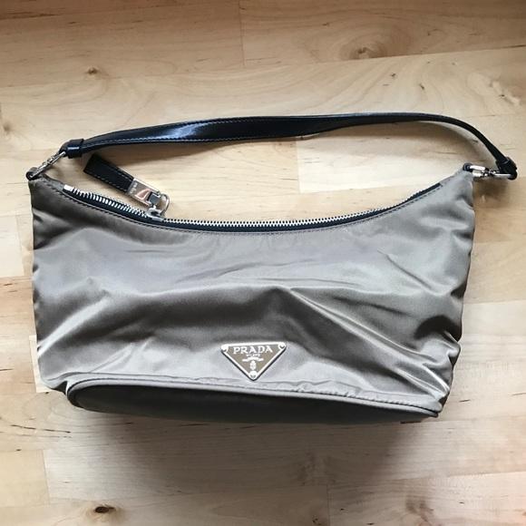 e1126a9f902a Prada Olive Green Mini Nylon Handbag. M 58b0989efbf6f9b86a01299d