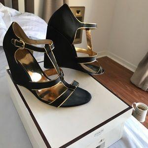 Coach Shoes - Satin dressy coach sandals