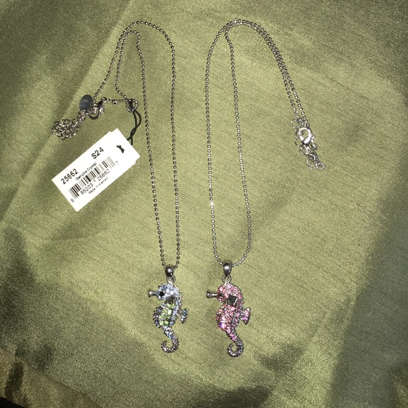Other - Seahorse necklaces!