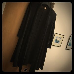 Rags and Couture Jackets & Blazers - Black Duster size M