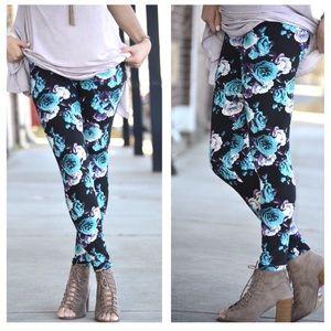 Infinity Raine Pants - Floral print leggings OS
