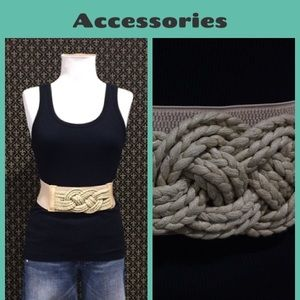 Anthropologie Accessories - Anthro Nautical Rope Knot Belt